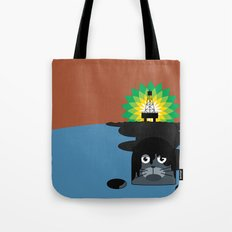 BP Oil Attack Tote Bag