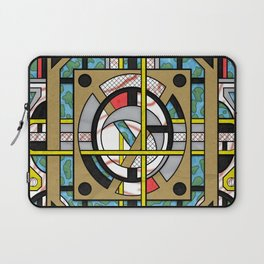 Switchplate - Surreal Geometric Abstract Expressionism Laptop Sleeve