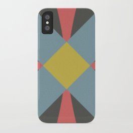 Blue gray iPhone Case