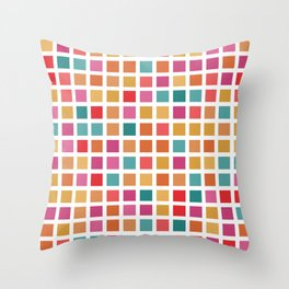 City Blocks - Sunrise #910 Throw Pillow