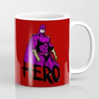 hero Mugs featuring Hero by Logan_J