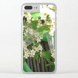 My Back Yard Clear iPhone Case