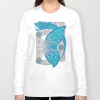 scandinavian Long Sleeve T-shirts featuring SCANDINAVIAN SUMMER by RAIDHO