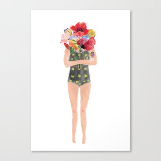 share some love Canvas Print