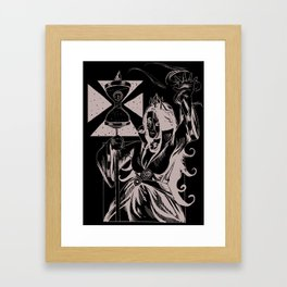 Time Witch Framed Art Print