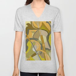 Three Scores And A Hen Unisex V-Neck