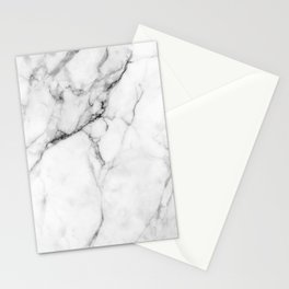 Marble White Stationery Cards