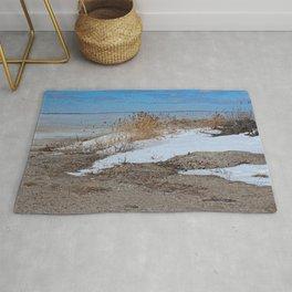 Snow and Sand Rug