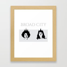 BC Queenin' Framed Art Print