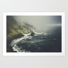 Pacific Coast Way Art Print