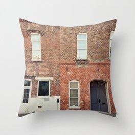 Morris Avenue Birmingham Alabama Throw Pillow