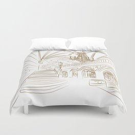 Royal Ballroom Duvet Cover
