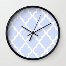 White Rombs #4 The Best Wallpaper Wall Clock