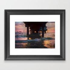 A 35mm Sunset Framed Art Print