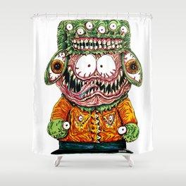 Monster Boy Shower Curtain