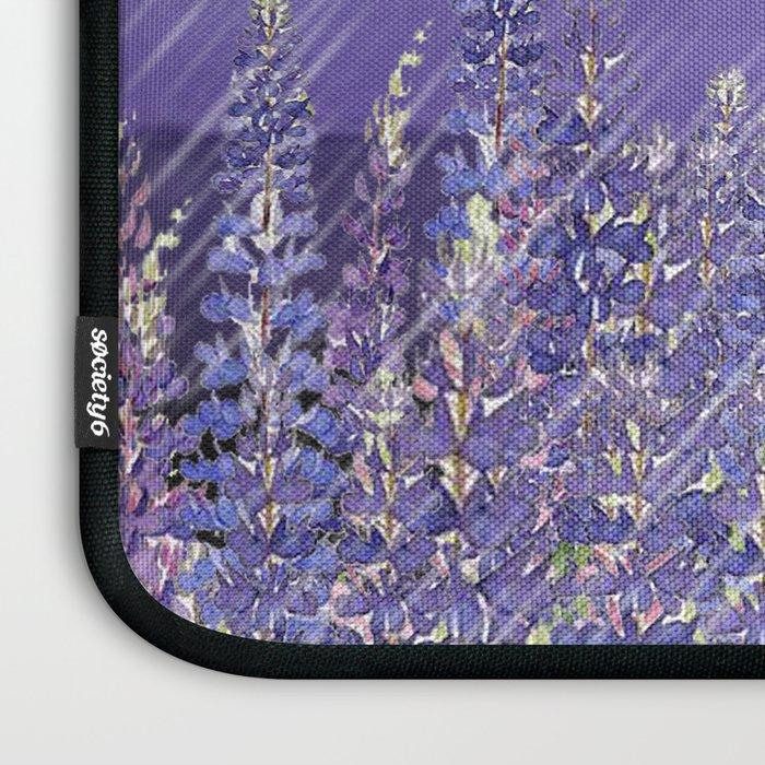 Purple Mountain Rain Laptop Sleeve