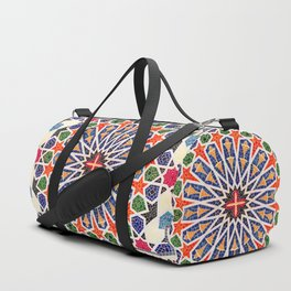 ARTERESTING V47 - Moroccan Traditional Design Duffle Bag