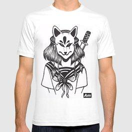 Kitsune Warrior T-shirt