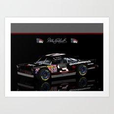 #DaleEarnhardt 1956 Chevy #NASCAR Art Print
