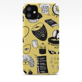 It's Always Sunny doodles iPhone Case