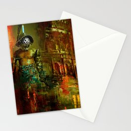 The last gladiator Stationery Cards