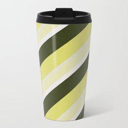 Cactus Garden Stripes 3D Travel Mug