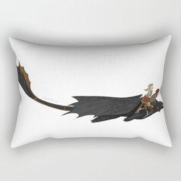 Romantic Flight Rectangular Pillow
