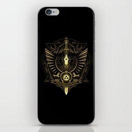 Zelda Sword iPhone Skin