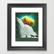 Road Less Traveled  Framed Art Print