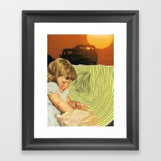What's In Your Grab Bag? Framed Art Print