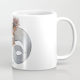 MorbidiTea - Earl Grey with Ram Skull Coffee Mug
