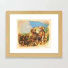 So Are The Eyes - [Mother 3] Framed Art Print