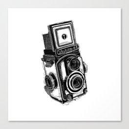 Yaschica 44 camera Canvas Print