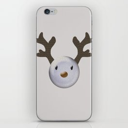 Happy baby deer iPhone Skin