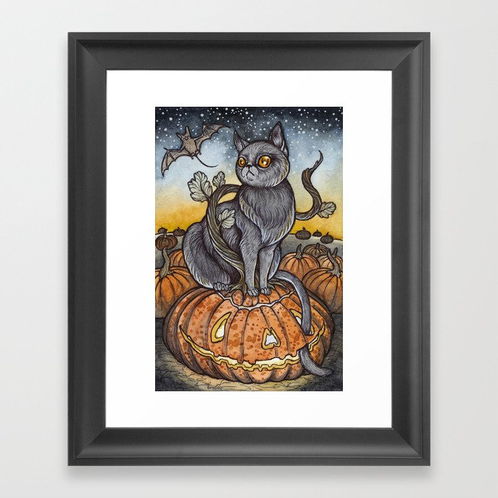 All Hallows Eve Framed Art Print