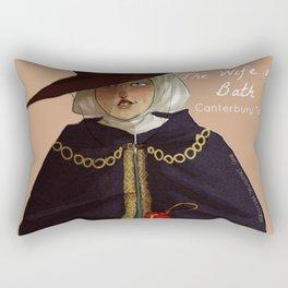 the wife of Bath Rectangular Pillow