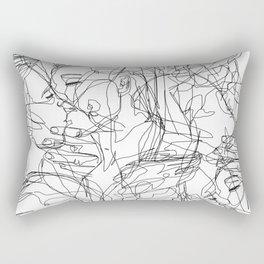 Love on Repeat Rectangular Pillow