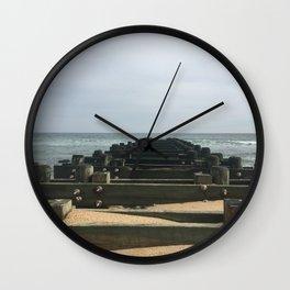 Sea Girt Beach  Wall Clock