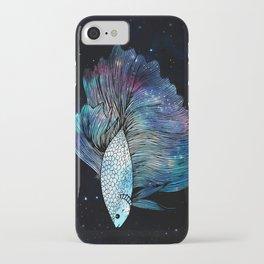 Betta Fish Galaxy iPhone Case