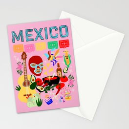 Mexico Print Stationery Cards