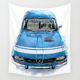 Renault 12 Gordini Wall Tapestry