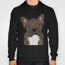 Brindle Frenchie 001 Hoody