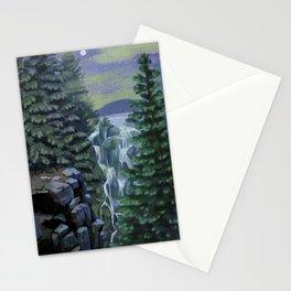 Mount Rainier National Park (Night) Stationery Cards