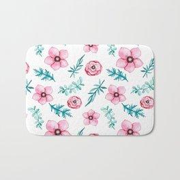 spring flowers Bath Mat