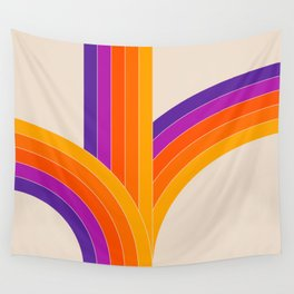Bounce - Rainbow Wall Tapestry