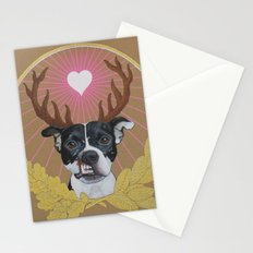 Jaggermeister - pitbull Stationery Cards
