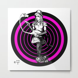 Alice Targeted Metal Print