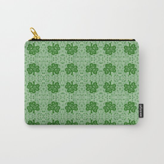 Irish Clover Carry-All Pouch