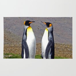 King Penguins Bonding Rug