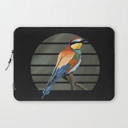 jz.birds Bee-Eater Bird Design Painting Laptop Sleeve
